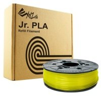 XYZ Da Vinci Junior 600g PLA Filament - Clear Yellow