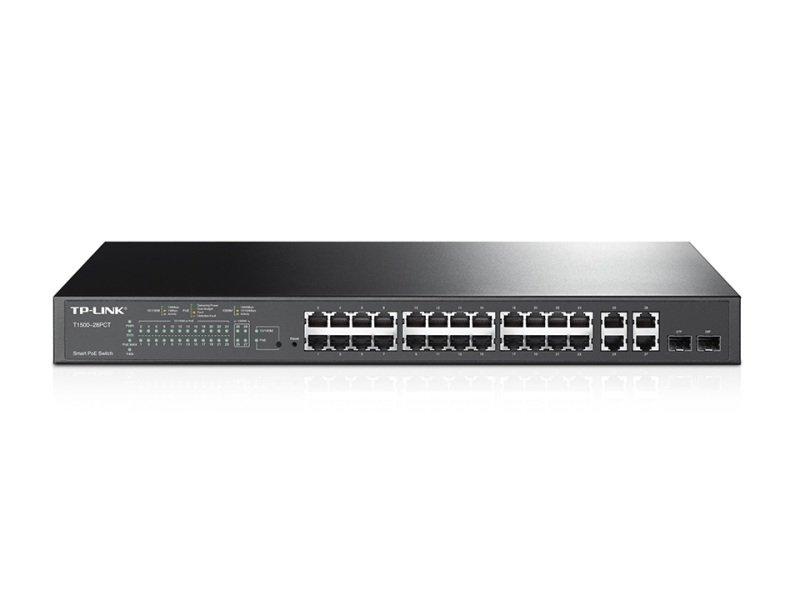 TP-Link 24-Port 10/100Mbps + 4-Port Gigabit Smart PoE+ Switch