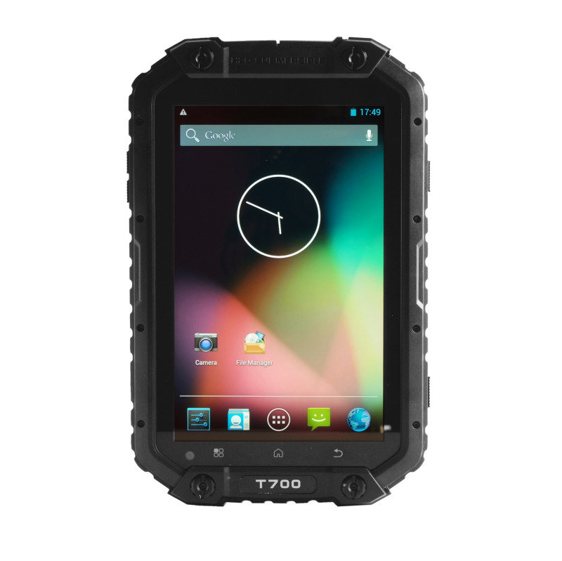Toughshield T700 7 INCH 16GB Tablet Ruggedised NFC Dual Sim Android  Black