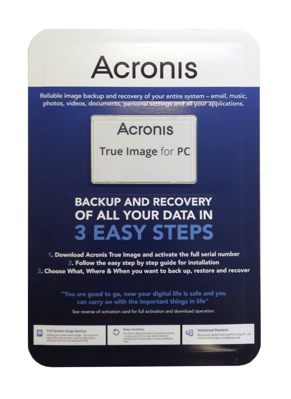 Image of Acronis True Image 2015 For PC - Blister Pack