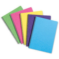 Europa Notemaker A4 Sidebound Assorted 10 Pack