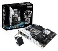 Asus Z170-DELUXE Socket 1151 8 Channel Audio HDMI DisplayPort ATX Motherboard