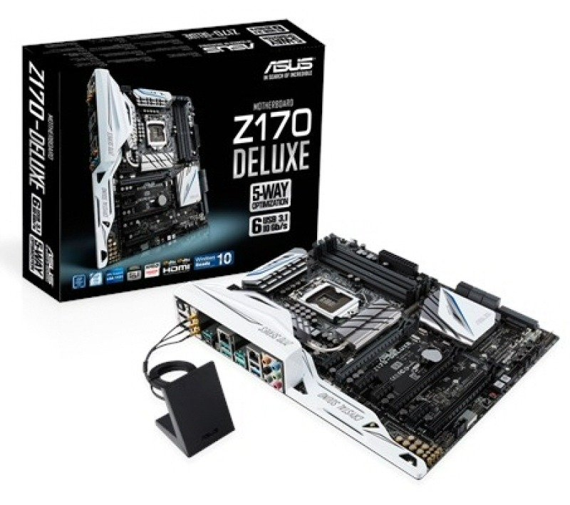 Asus Z170DELUXE Socket 1151 8 Channel Audio HDMI DisplayPort ATX Motherboard