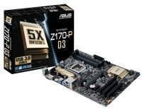 Asus Z170-P D3 Socket 1151 DVI HDMI 8 Channel Audio ATX Motherboard