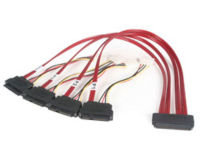 StarTech.com Serial Attached SCSI (SAS) Internal Cable 0.5m Red