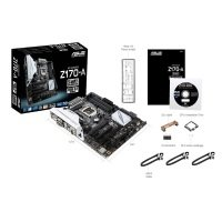 Asus Z170-A Socket 1151 VGA DVI-D HDMI DisplayPort 8 Channel Audio ATX Motherboard