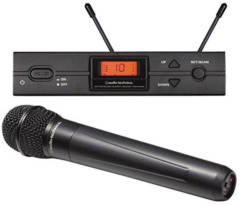 Image of Audio-Technica 2000 Series Handheld Radio Mic On Band U