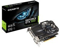 Gigabyte GTX 950 OC 2GB GDDR5 Dual DVI HDMI DisplayPort PCI-E Graphics Card