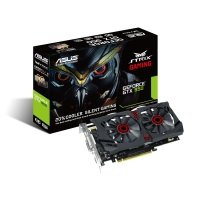 Asus GTX 950 STRIX OC Gaming 2GB GDDR5 Dual DVI HDMI DisplayPort PCI-E Graphics Card