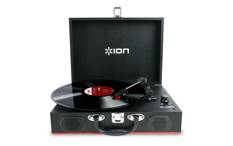 Image of ION Vinyl Transport Turntable with Built in Speakers