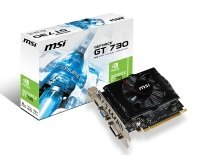 MSI GT 730 2GB DDR3 VGA DVI HDMI 2x Displayport PCI-E Graphics Card