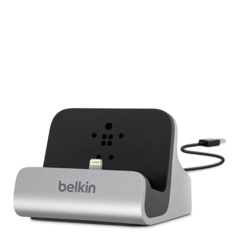 Belkin Charge & Sync Dock - Aluminum