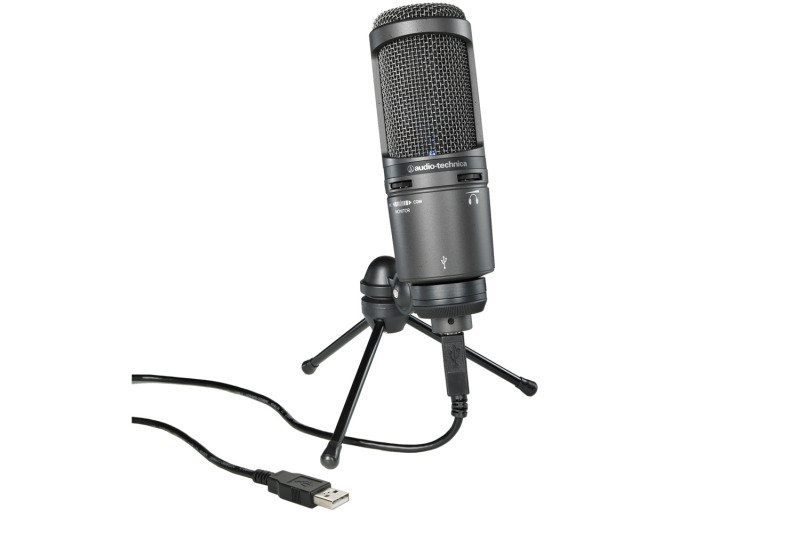 Image of Audio Technica AT2020USB+ Cardioid Condenser USB Microphone