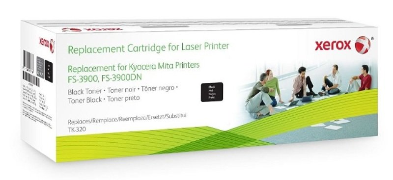 Xerox 003R99775 Alternative Black Toner for Kyocera TK-320
