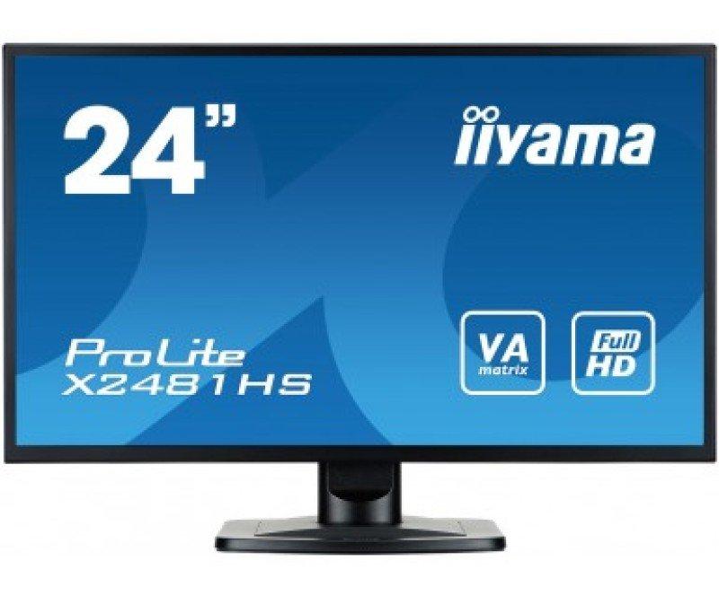 "Iiyama Prolite X2481HS-B1 23.6"" Full HD Monitor"