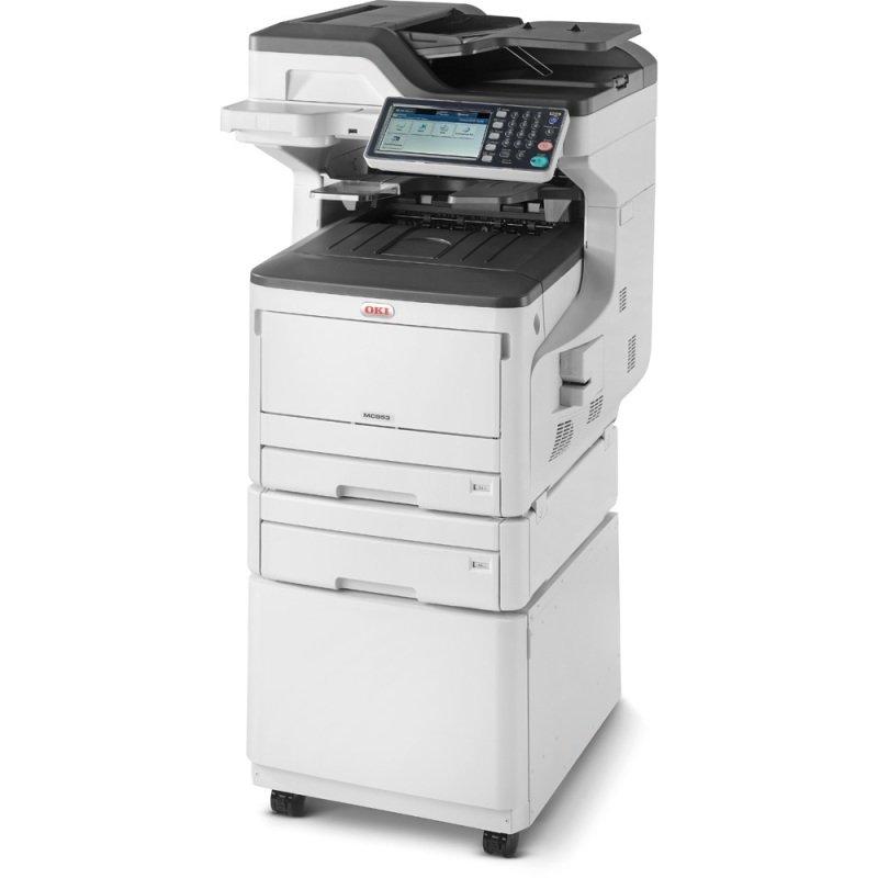 OKI MC853dnct A3 Colour Multifunction Laser Printer
