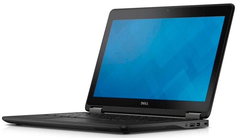 "Image of Dell Latitude E7250 Laptop, Intel Core i5-5300u 2.3GHz, 4GB RAM, 128GB SSD, 12.5"" HD, No-DVD, Intel HD, Webcam, Bluetooth, Windows 7 + 8.1 Pro 64bit"