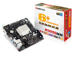 Biostar N3050NH Ver. 6.x Intel Celeron VGA HDMI 6-Channel HD Audio Mini ITX Motherboard