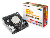 Biostar N3150NH Ver. 6.x Intel Celeron VGA HDMI 6-Channel HD Audio Mini ITX Motherboard
