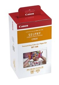 Canon RP 108 Print Ribbon and Paper Kit