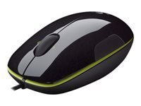 Logitech Corded Mouse M150 Grape Flash Acid