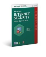 Kaspersky Internet Security 2016 Multi Device 1 Year 5 Devices Medialess kit