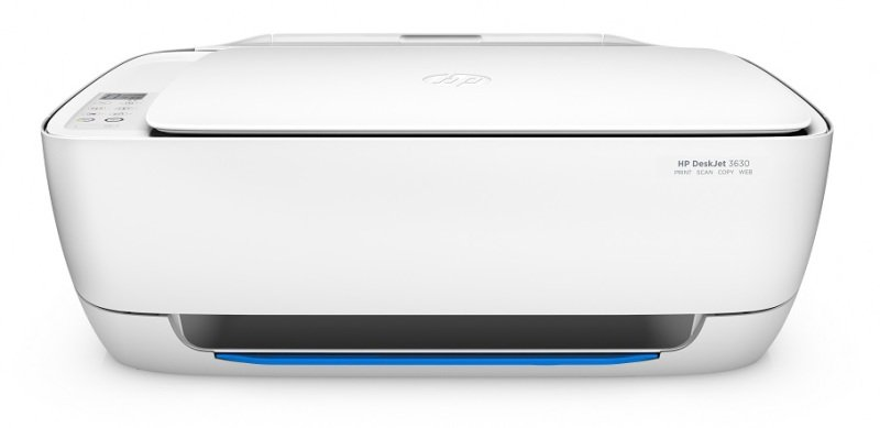 Image of HP DeskJet 3630 All-in-One Multi-Function Wireless Inkjet Printer