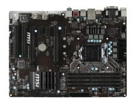 MSI H170A PC MATE Socket 1151 VGA DVI-D HDMI 8-channel Audio ATX Motherboard