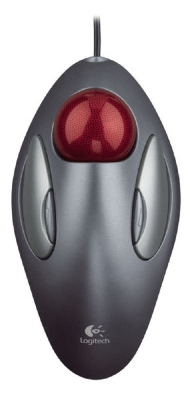Logitech Trackman Marble - Trackball Optical Mouse - USB