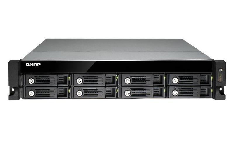 Image of QNAP TVS-871U-RP-PT (4GB RAM) 8 Bay 2U Rackmount NAS