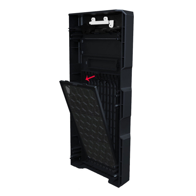 GM-One Knight Green LED Mid Tower Case