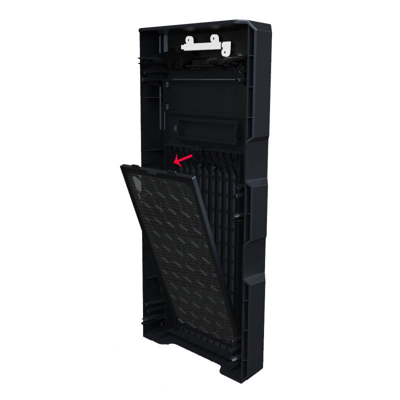 GM-One Knight Red LED fans USB3 Mid Tower Case