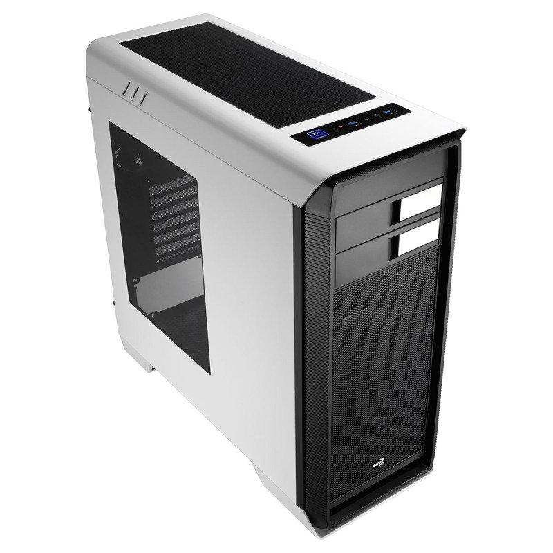 Image of Aerocool 1000 White Midi Tower Gaming Case