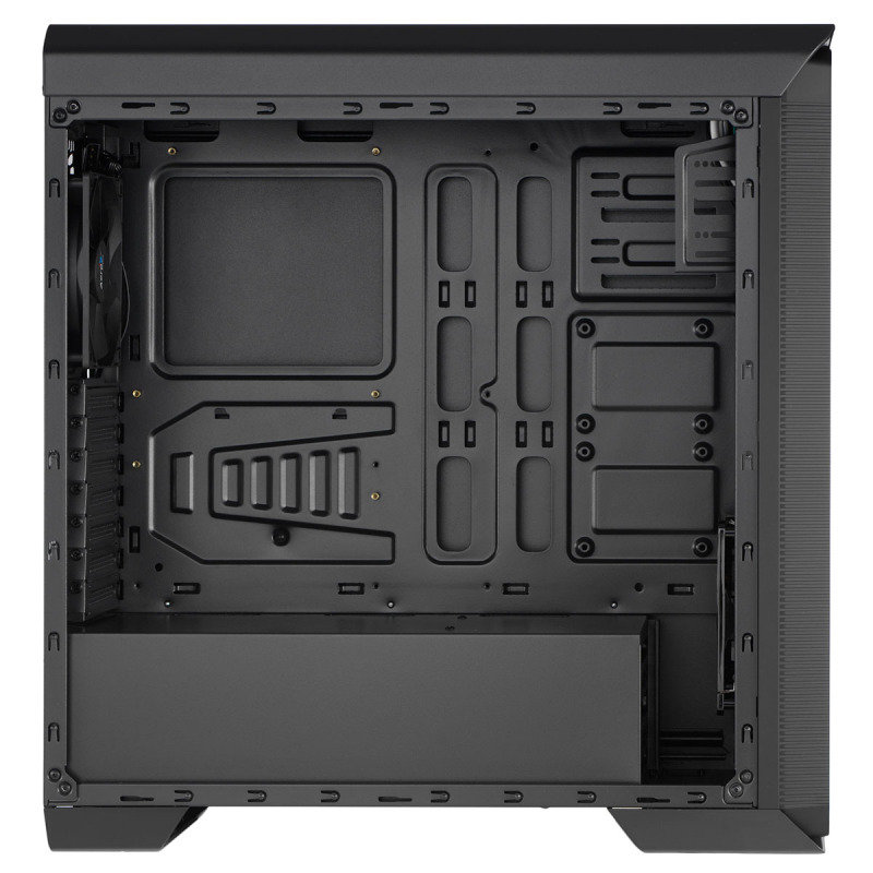 Aerocool 800 Black Midi Tower Gaming Case With Window