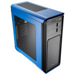 Aerocool 800 Blue Midi Tower Gaming Case With Window