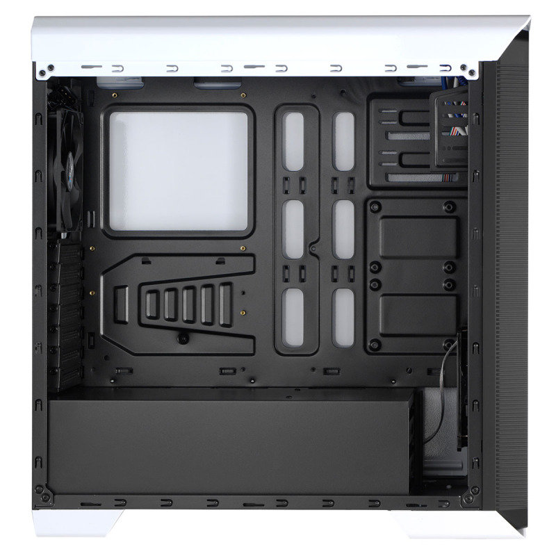 Aerocool 800 White Midi Tower Gaming Case With Window