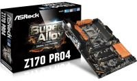 ASRock Z170 Pro4 Socket 1151 DVI-D HDMI 7.1 CH HD Audio ATX Motherboard