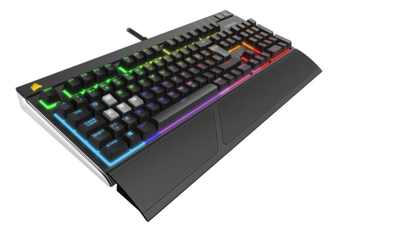Corsair STRAFE RGB Mechanical Gaming Keyboard - Cherry MX Red