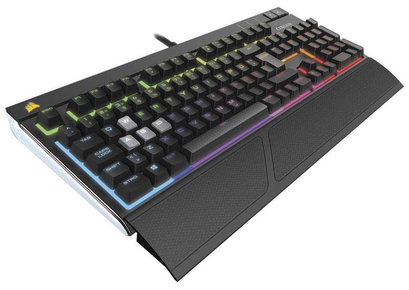 Corsair Gaming STRAFE RGB Mechanical Gaming Keyboard Cherry MX SILENT (UK)