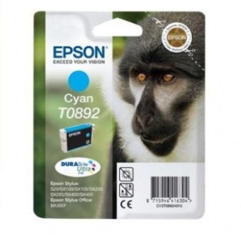 Epson T0892 Cyan Ink Cart