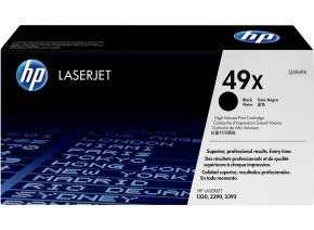HP 49X Black Toner cartridge - Q5949X