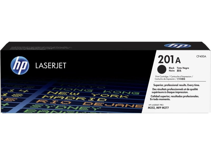 HP 201A Black Original Laserjet Toner Cartridge with JetIntelligence - CF400A