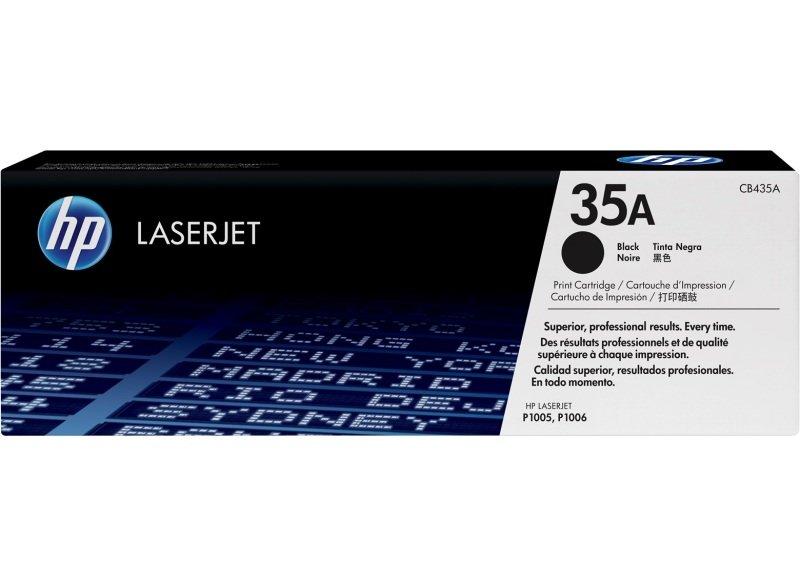 HP 35A Black Toner Cartridge 1500 Pages - CB435A