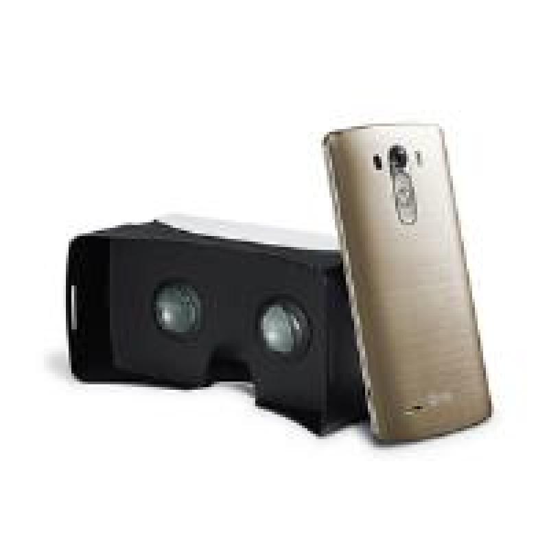 LG VR 3D Virtual Reality Viewer - Black/White