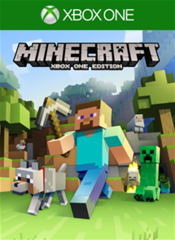 Image of 44Z-00010 Minecraft Xbox One Game