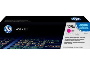 HP 125A Magenta Toner Cartridge - CB543A