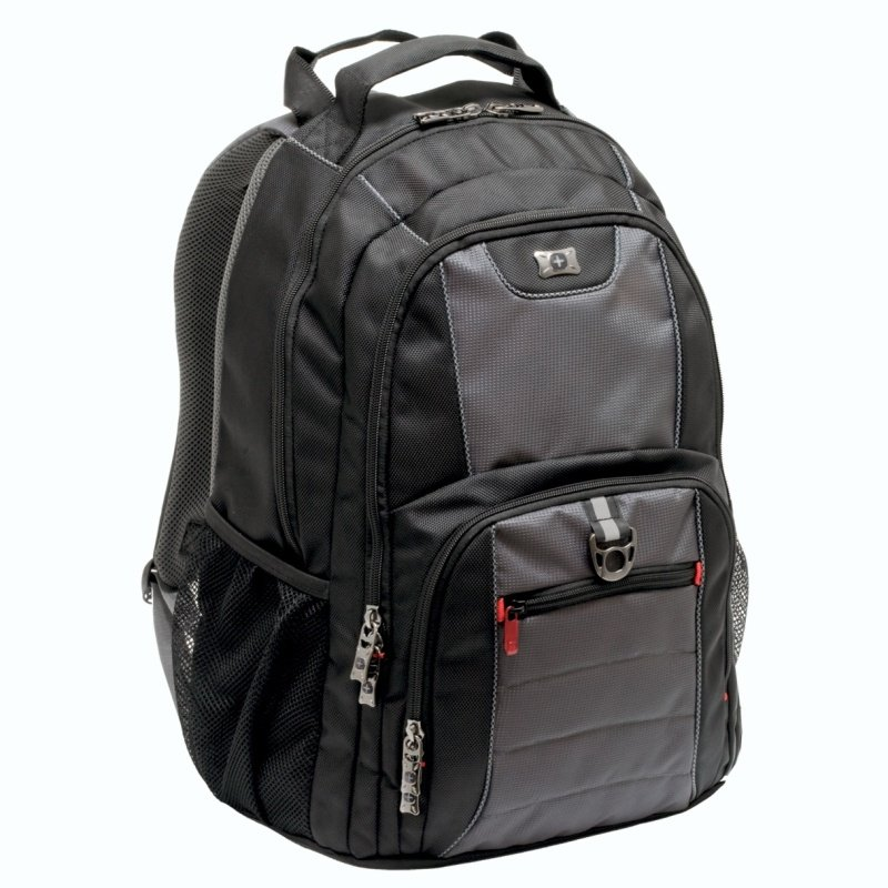 "Image of Wenger Pillar Backpack for Laptops up to 16"" - Black"