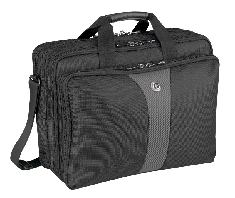 Wenger Legacy Triple case  For Laptops up to 17&quot  Black