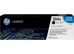 HP 304A Black Toner Cartridge - CC530A