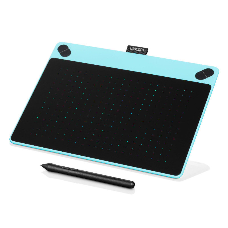 Image of Intuos Art Pen & Touch Medium Graphics Tablet- Mint Blue